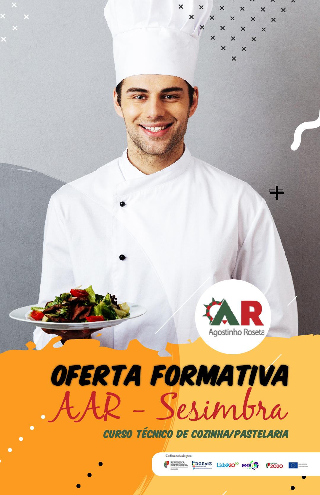 Oferta formativa _ Sesimbra   _ Curso Técnico de Cozinha/Pastelaria